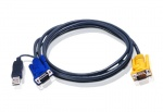 Cablu KVM USB-PS/2 SPHD 3m, ATEN 2L-5203UP