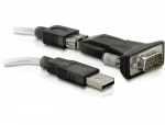 Adaptor USB la Serial RS232, Delock 61425