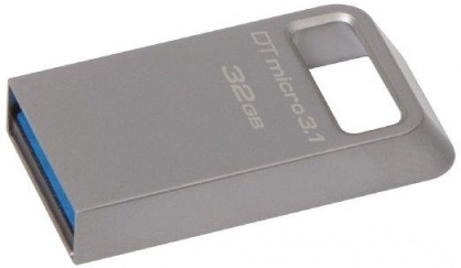 Stick DataTraveler Micro 32GB USB 3.1/3.0, Metal, Kingston