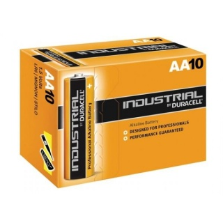 Set 10 baterii Duracell industriale AA LR6