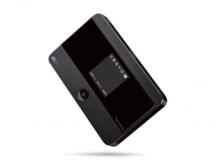 ROUTER WIRELESS PORTABIL, 4G, modem incorporat, display OLED, TP-LINK M7350