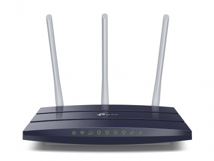 Router Gigabit Wireless N 450Mbps 3 antene, TP-LINK TL-WR1043N