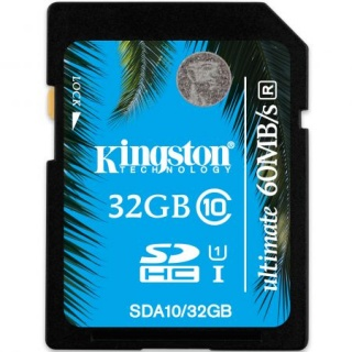 Card de memorie SECURE DIGITAL CARD SDHC Ultimate 32GB (class10), KINGSTON SDA10/32GB