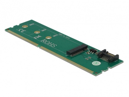 Adaptor SATA + DDR3 la M.2 key B, Delock 63960