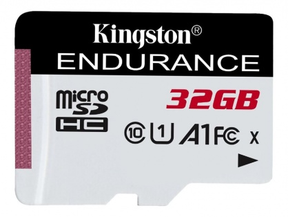 Card de memorie micro SDHC 32GB clasa 10 UHS-I High Endurance, Kingston SDCE/32GB