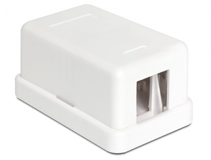 Keystone Surface Mounted Box 1 Port, Delock 86226