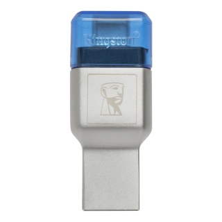 Cititor de carduri USB 3.1-C la microSD/SDHC/SDXC UHS-I, Kingston FCR-ML3C