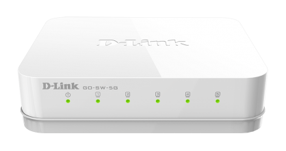 Switch 5 porturi Gigabit, D-LINK GO-SW-5G
