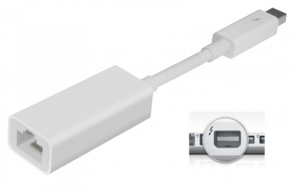 Adaptor Thunderbolt la Gigabit LAN, Apple MD463ZM/A