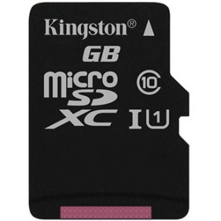 Card de memorie micro SD Canvas Select 128GB clasa 10, Kingston SDCS/128GBSP