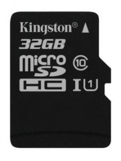 Card de memorie micro SD Canvas Select 32GB clasa 10, Kingston SDCS/32GBSP