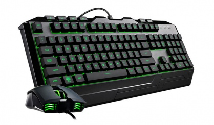 Kit tastatura si mouse USB COOLER MASTER Devastator 3 RGB LED