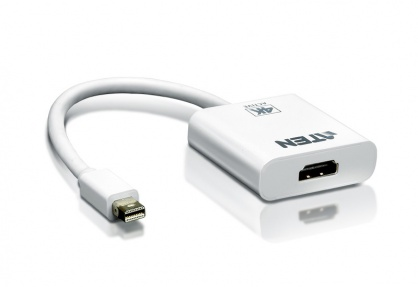 Adaptor Mini DisplayPort la 4K HDMI T-M Alb, ATEN VC981