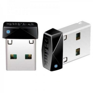 Adaptor wireless USB N150 micro, D-LINK DWA-121