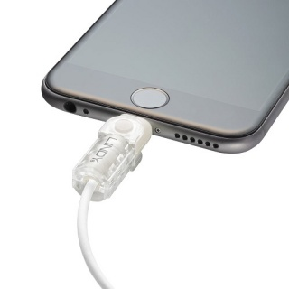 Kit de protectie pentru interfata Lightning + USB-A transparent, Lindy L31385