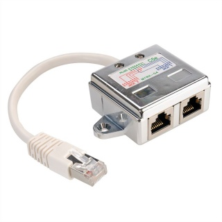 Adaptor RJ45 in Y ecranat Cat 5e, Value 21.99.3050