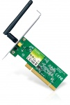 Placa retea Wireless PCI 150Mbps, TP-Link TL-WN751ND