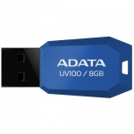 USB 2.0 8GB ADATA UV100 Blue