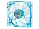 Ventilator universal carcasa 120mm, UV LED blue, DeepCool XFAN 120U B/B