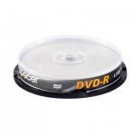 DVD-R 4.7GB/120Min 16x 10 buc/set, Spacer DVDR10