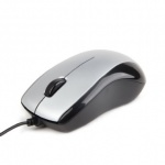 Mouse optic USB Black&Silver, Gembird MUS-U-002