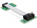 Riser card Mini PCIe la PCI Express x1 right insertion, Delock 41851