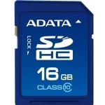 Secure Digital Card SDHC 16GB class10 ADATA ASDH16GUICL10-R