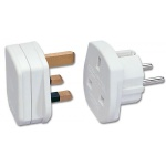 Adaptor UK la Europa Alb, Lindy L73099