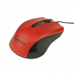 Mouse optic USB, Red GEMBIRD MUS-101-R