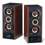 Boxe 2.0 GENIUS SP-HF800A 2 x 10W, Black&Cherry Wood