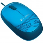 Mouse Optic Logitech M105, USB, 1000dpi, blue